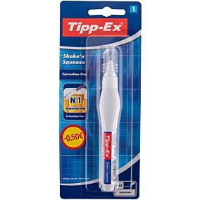 Διορθωτικό TIPP-EX Shake'n Squeeze υγρό σε στυλό -1€ (8ml)