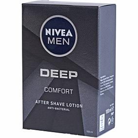 After shave NIVEA men deep comfort lotion anti-bacterial (100ml)