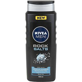 Αφρόλουτρο NIVEA MEN ROCK SALTS για σώμα, πρόσωπο και μαλλιά (500ml)