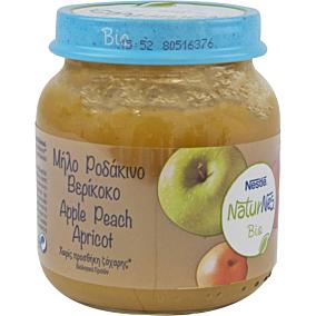 Παιδική κρέμα NESTLE NaturNes μήλο ροδάκινο βερύκοκο