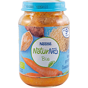 Παιδική τροφή NESTLE κους κους με κοτόπουλο και λαχανικά βιολογικό (bio) (190g)