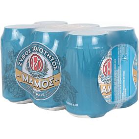 Μπύρα ΜΑΜΟΣ (6x330ml)