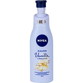 Λοσιόν σώματος NIVEA Vanilla & Almond oil (200ml)