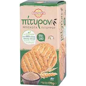Μπισκότα ΒΙΟΛΑΝΤΑ πίτυρον κλασσικά (170g)