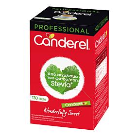 Γλυκαντικό CANDEREL από stevia σε sticks (130τεμ.)