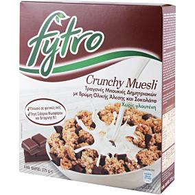 Δημητριακά FYTRO muesli crunchy με σοκολάτα (375g)