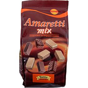 Γκοφρέτες AMARETTI mix σε σακουλάκι (200g)