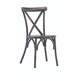 Καρέκλα RESORT LINE αλουμινίου rattan γκρι