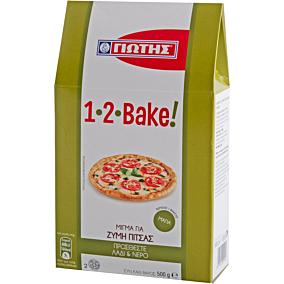 Μείγμα 1-2-BAKE HELLSA για pizza (500g)