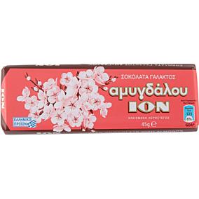 Σοκολάτα ΙΟΝ γάλακτος αμυγδάλου (45g)