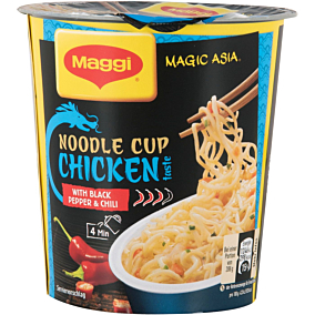 Noodles MAGGI magic Asia με κοτόπουλο (63g)
