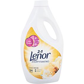 Απορρυπαντικό LENOR gold orchid πλυντηρίου ρούχων, υγρό (34μεζ.)