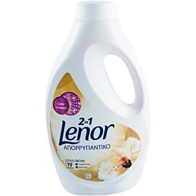 Απορρυπαντικό LENOR gold orchid πλυντηρίου ρούχων, υγρό (19μεζ.)
