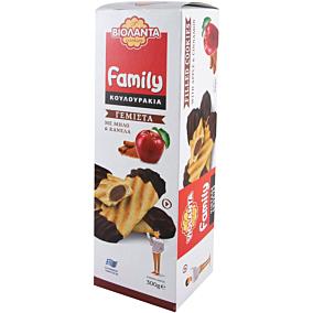 Κουλουράκια ΒΙΟΛΑΝΤΑ family γεμιστά με μήλο και κανέλα (300g)