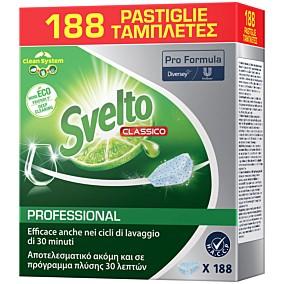 Απορρυπαντικό SVELTO Pro πλυντηρίου πιάτων σε ταμπλέτες (188τεμ.)