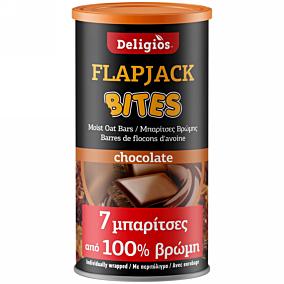 Μπάρα δημητριακών DELIGIOS Flap Jack με σοκολάτα (175g)
