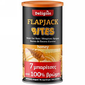Μπάρα δημητριακών DELIGIOS Flap Jack με μέλι (175g)