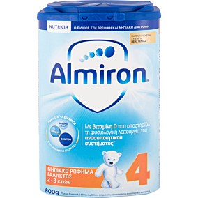 Γάλα σε σκόνη ALMIRON 4 (800g)