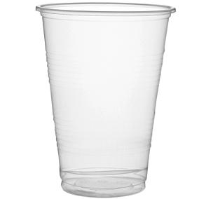 Ποτήρι πλαστικό PP διαφανές 185ml (50τεμ.)
