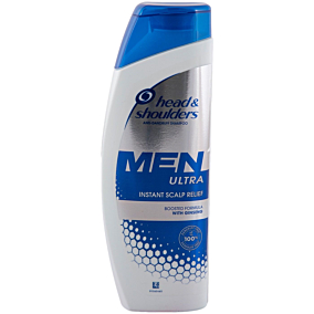 Σαμπουάν HEAD AND SHOULDERS men ultra instant scalp relief (300ml)