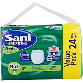Πάνες SANI VP Νο.3 Large για την ακράτεια (24τεμ.)