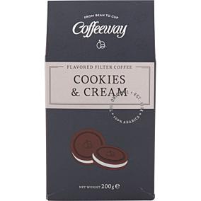 Καφές COFFEEWAY φίλτρου μπισκότο κρέμα (200g)