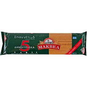Μακαρόνια ΜΑΚΒΕΛ σπαγγέτι με 5 δημητριακά No. 6 (500g)
