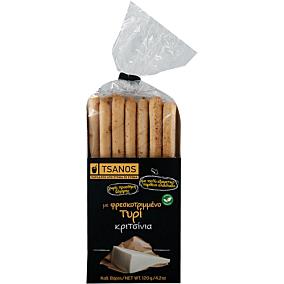 Κριτσίνια TSANOS με τυρί (120g)