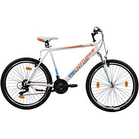 Ποδήλατο VENTURE WILD CAT MTB 26'' 18 ταχυτήτων ανδρικό λευκό/μαύρο
