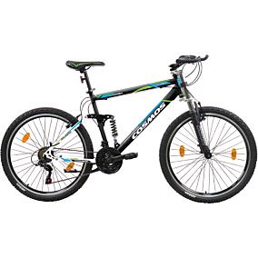 """Ποδήλατο COSMOS COLUMBIA MTB 26"""" 18 ταχυτήτων unisex λευκό/μαύρο"""
