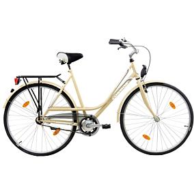 """Ποδήλατο πόλης COSMOS CITY 28"""" μπεζ"""