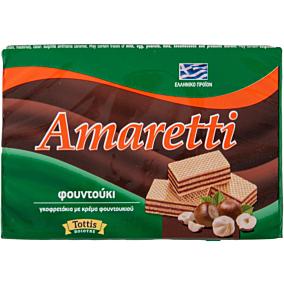 Γκοφρέτα AMARETTI με κρέμα φουντουκιού (68g)