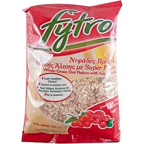 Δημητριακά FYTRO νιφάδες βρώμης με super fruits (500g)