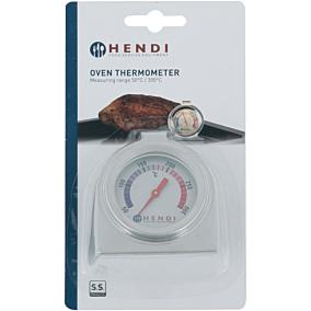Θερμόμετρο HENDI φούρνου από +50ºC έως +300ºC 4x10cm