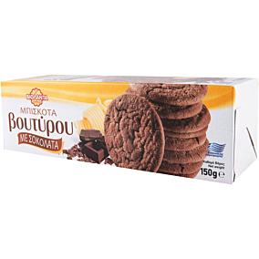 Μπισκότα ΒΙΟΛΑΝΤΑ Βουτύρου με σοκολάτα (150g)