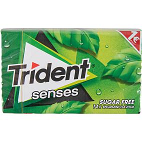 Τσίχλες TRIDENT senses δυόσμος (27g)