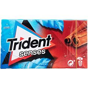 Τσίχλες TRIDENT Senses κανέλα και μέντα (27g)