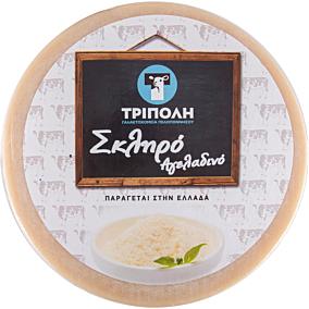 Αναπλήρωμα τυριού ΤΡΙΠΟΛΗ σκληρό αγελαδινό, κεφάλι (~8kg)