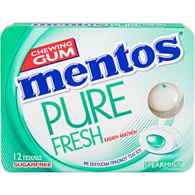 Τσίχλες MENTOS Pure fresh δυόσμος (18g)