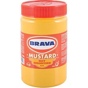Μουστάρδα BRAVA πικάντικη βαρελάκι (500g)
