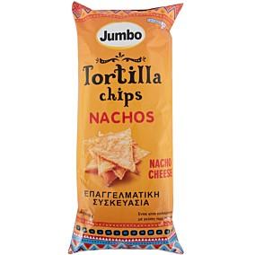 Τσιπς τορτίγια JUMBO Nacho cheese (350g)