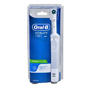 Οδοντόβουρτσα ORAL B cross action white ηλεκτρική