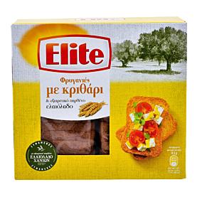 Φρυγανιές ELITE με κριθάρι (250g)