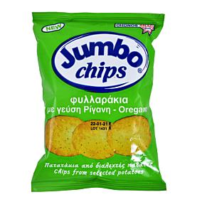 Πατατάκια JUMB0 φυλλαράκι ρίγανη (25g)