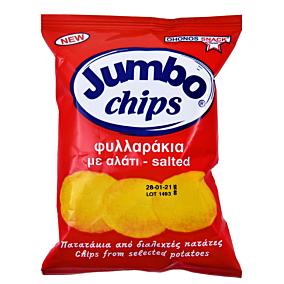 Πατατάκια JUMB0 φυλλαράκι αλάτι (25g)