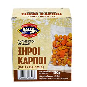 Ξηροί καρποί BALLY NUTS bar mix (6x180g)