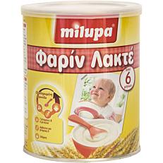 Παιδική κρέμα MILUPA φαρίν λακτέ