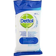 Πανάκια καθαρισμού DETTOL αντιβακτηριδιακά για επιφάνειες