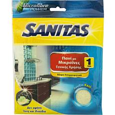 Πανί SANITAS με μικροΐνες για γενική χρήση