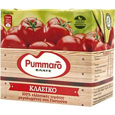 Χυμός τομάτας PUMMARO κλασικός ελαφρά συμπυκνωμένος (24x500g)